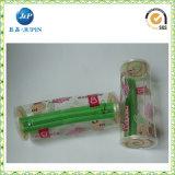 Sac en plastique PVC personnalisé avec fermeture à glissière (JP-plastic039)
