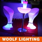 Cocktail-Stuhl-Stab-Schemel der Farben-ändernder Freizeit-Haupt-LED