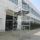 装飾のためのSGSの公認の移動式アルミニウム足場4m
