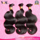 Большое часть волос оптовой модной сырцовой девственницы человеческих волос материальной бразильское