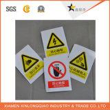 Стикер бумаги печатание ярлыка внимания предупредительных знаков напечатанный Self-Adhesive