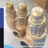 El API 520 por completo levanta/la válvula de seguridad baja del bronce de la elevación (A46Y)