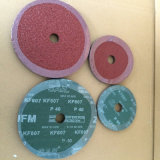 Discos de la fibra del óxido de aluminio 0.8m m para el polaco del metal