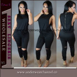 Mode Lady&acute ; Salopette de Catsuit d'usager de club de femmes de S (TBLSN66132)