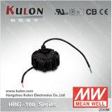 Excitador elevado bom da iluminação da baía da exposição de diodo emissor de luz do excitador Hbg-100 100W do diodo emissor de luz do meio