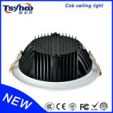 COB LED Aluminum 12W 20W 30W Ceiling LED Downlight