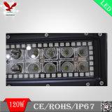 Barre d'éclairage LED et lumière pilotante tous terrains avec les halos changeants de couleur de RVB (HCB-LRGB1202)