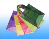Sachets en plastique estampés par coutume, sacs à provisions de supermarché dans des sacs d'empaquetage en plastique