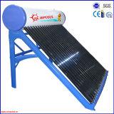 La pipa de calor compacto tubo de vacío solar a presión calentador de agua caliente