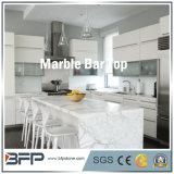 Partie supérieure du comptoir en pierre de marbre normale chinoise pour la barre/cuisine/pièce de vanité