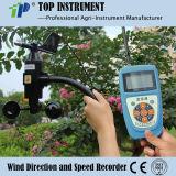Velocità del vento tenuta in mano e video di senso (TPJ-30)