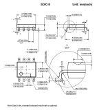 Circuit intégré réglementaire du contrôleur IC de Pfc pour le gestionnaire de DEL