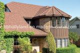 Tuile de toit enduite en métal de pierre colorée de Milan