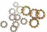 Rondelle de freinage de dents de l'acier du carbone DIN6797A/rondelles