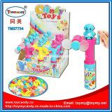 Het kleurrijke Koel de hand-Aandrijving van de Zak Stuk speelgoed van de Ventilator met Suikergoed