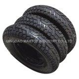 Pneumático de borracha do Wheelbarrow do pneumático do carrinho de mão de roda (3.50-8)