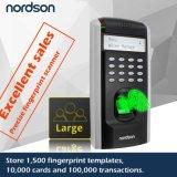 Großes SpeicherCapactiy LCD Bildschirm-Netz-Fingerabdruck-Zugriffssteuerung-System mit freiem Sdk