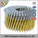 Constructeur chinois de clou de bobine de fil de 15 degrés