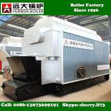 1000kgs caldeira de vapor industrial despedida da capacidade 1ton/Hr carvão horizontal
