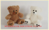 Bege e peluche Bear de Toy do luxuoso de Doll do luxuoso de Grey