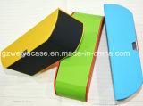 Best Selling couro macio óculos Case / Atacado caso de óculos com logotipo