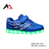 Children (AK392-1)のためのLED Flash Light Shoes Shining Casual Boots