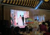 Visualizzazione di LED dell'affitto P3.91 di HD per la cerimonia nuziale, mostra, fase