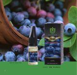 ブルーベリーのハッカの香りがする茶高いVgの30mlか10mlガラスビンが付いている優れた味Eの液体