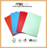 Papier-copie de la couleur A4 légère pour le papier de bureau pour l'impression