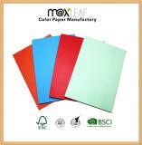 El nuevo doble del papel hecho a mano de Writepads DIY del papel del color echó a un lado el arte coloreado DIY