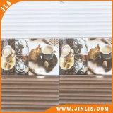 Mattonelle di ceramica calde della parete delle mattonelle di pavimento della stanza del bagno di colore