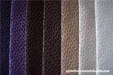 Tissu de polyester de velours de jacquard pour des usages de sofa