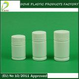 50ml丸型のPEの白いプラスチック薬のびん