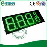 Commutateur de prix du gaz de DEL, écran des prix de chiffre de DEL