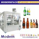 Máquina en botella automática del lavado de la cerveza, del relleno y el capsular