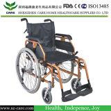 セリウムが付いている手動車椅子のタイプアルミニウム軽量の車椅子