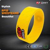 Wristband conveniente del PVC di RFID