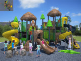 Kaiqi Medium-sortierte Forest themenorientiertes Childrens Outdoor Playground mit Slides und More (KQ50006A)