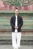 De Kleren van de Oefeningen van de Ochtend van de Hoogwaardige Mensen van het Vlas van Kongfu Taichi van Wudang