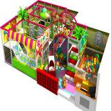Süßigkeit-Haus-Innenspielplatz für Kinder