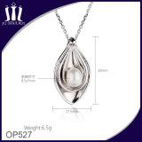 Colgante de la perla natural del shell del encanto del muchacho y de la muchacha