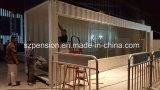 Nuevo tipo sitio del envase modificado casa prefabricados/prefabricados de la sol/