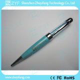Movimentação de cristal da pena do USB da jóia da forma da pena do estilete (ZYF1926)