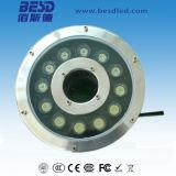 Fachmann 18W IP68 imprägniern Unterwasser-Brunnen-Licht RGB-LED