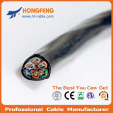 O cabo combinado 2X1.50 Mm2 + 2X0.50mm2 Dual RG6/4