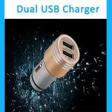 Выдвиженческий оптовый передвижной заряжатель автомобиля USB универсалии 5V 1.2A миниый двойной передвижной
