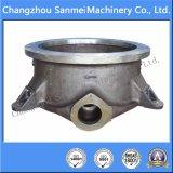 Molde de fundición de acero cubierta inferior de piezas de maquinaria de minería