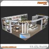 Visualizzazione piegante della cabina dell'esposizione su ordinazione portatile della fiera commerciale