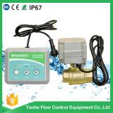 De draadloze Oplossing van het Controlemechanisme van de Detector van de Opsporing van het Lek van het Water met Gemotoriseerde Klep