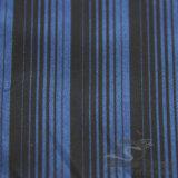 Agua y de la manera de la chaqueta tela catiónica tejida chaqueta Viento-Resistente 100% del filamento del hilado del poliester rayado del telar jacquar abajo (X025)